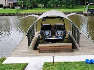 SlipSki Boating Solutions™, Announces Lifetime Warranty On Boat Slip Frames And Introduces New Gull-Wing Model
